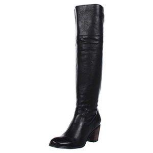 Frye Lucinda OTK Slouch Boots SZ 10